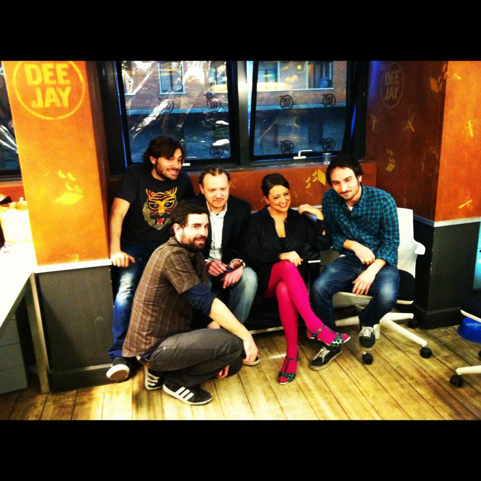 Mamkass at RadioDeejay